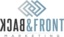 Back And Front Marketing Logo